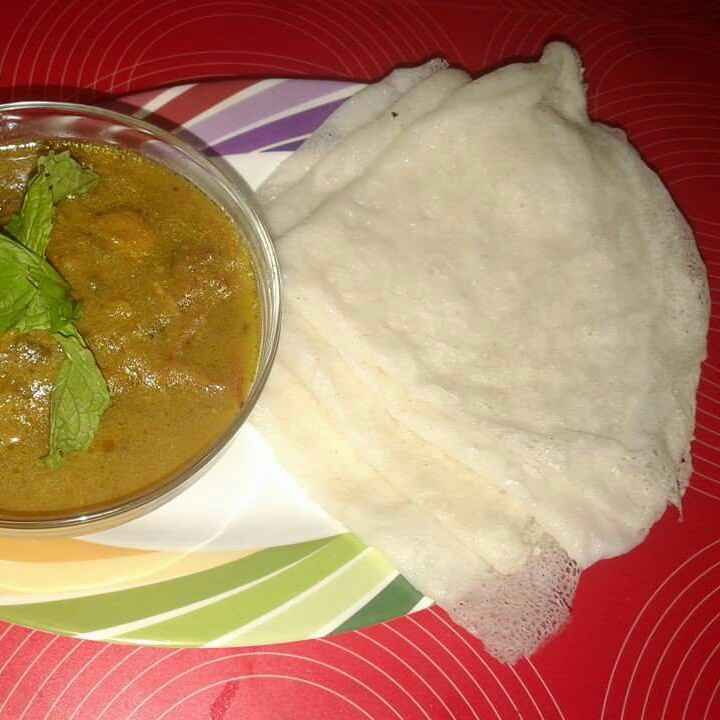 Photo of Neer Dosa by Nida Saleem at BetterButter