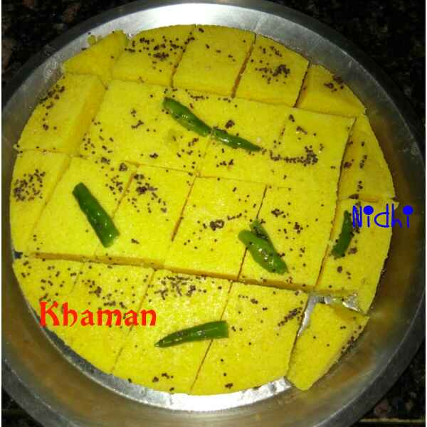 How to make Khaman