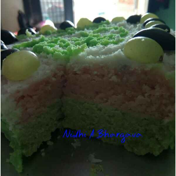 How to make Two layered cake