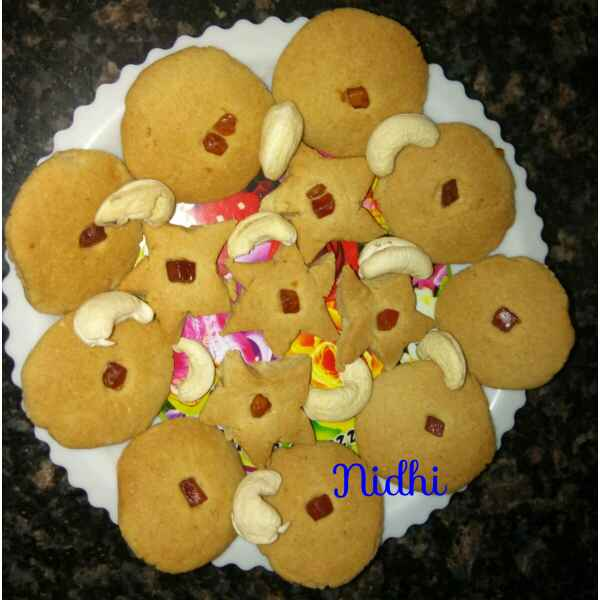 Photo of Wheat flour cookies by Nidhi Ashwani at BetterButter