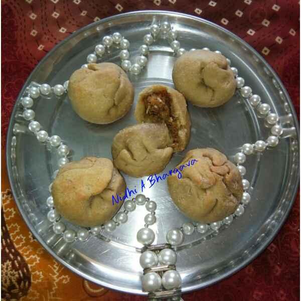 How to make मावा बाटी
