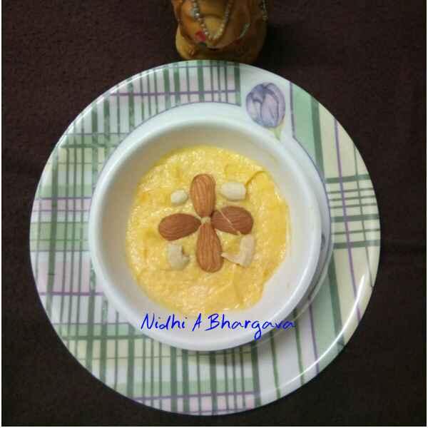 Photo of Mango mousse by Nidhi Ashwani at BetterButter