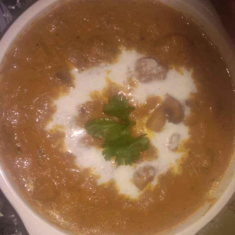 Photo of Mushroom do pyaza by Nidhi Bansal at BetterButter