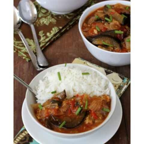 How to make Eggplant in sweet and sour sauce