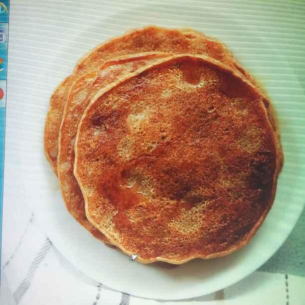 How to make Banana Pancake Eggless