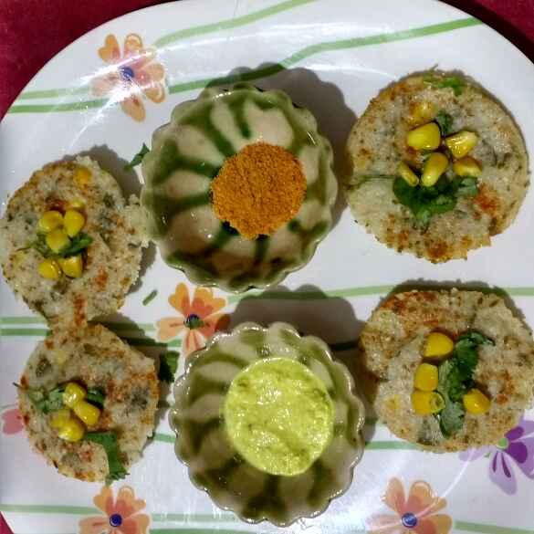 Photo of Healthy corn coriander Idli by Nidhi Pandya Mehta at BetterButter