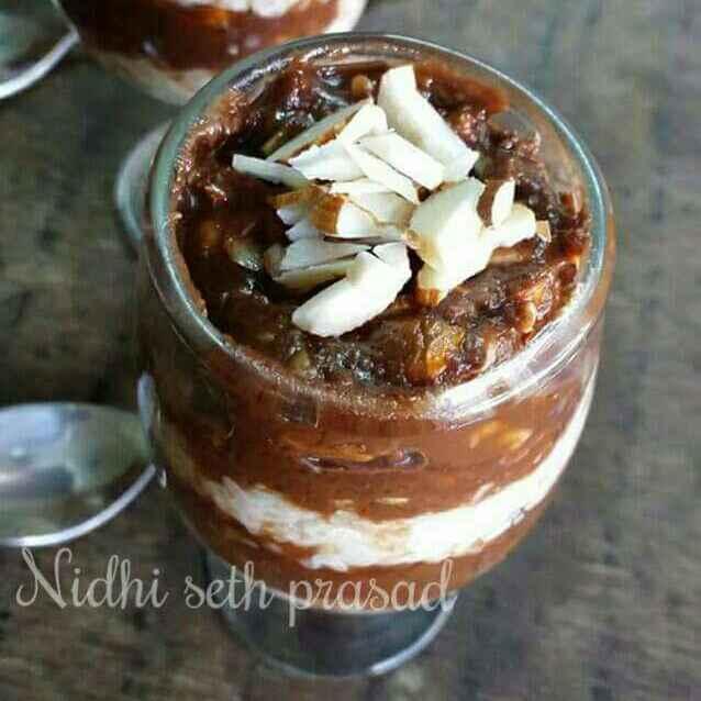 Photo of Ots daliya chocolate nut crunch pudding by Nidhi Seth at BetterButter