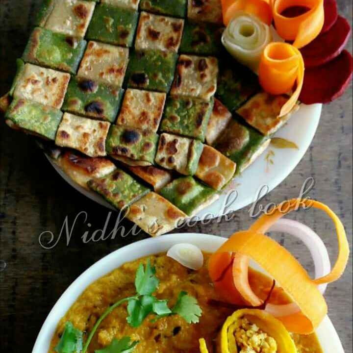 Photo of Paneer stuffed moong roll in creamy patiyala gravy by Nidhi Seth at BetterButter
