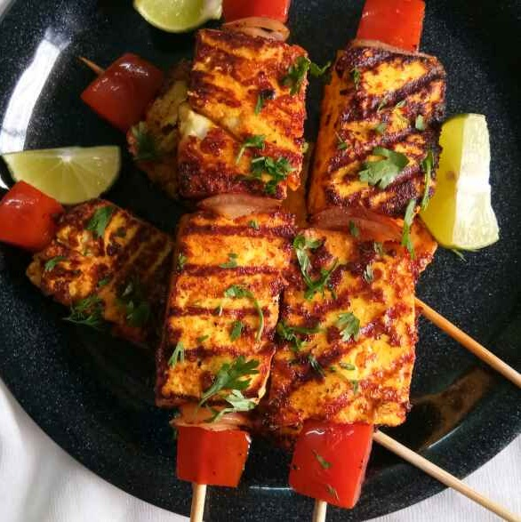Photo of Saunfiya paneer tikka by Nidhi Seth at BetterButter