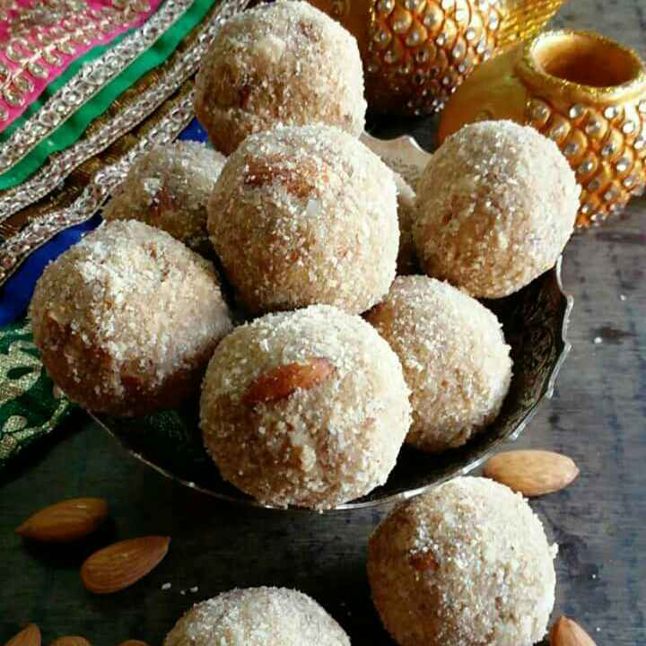 How to make Badam laddu