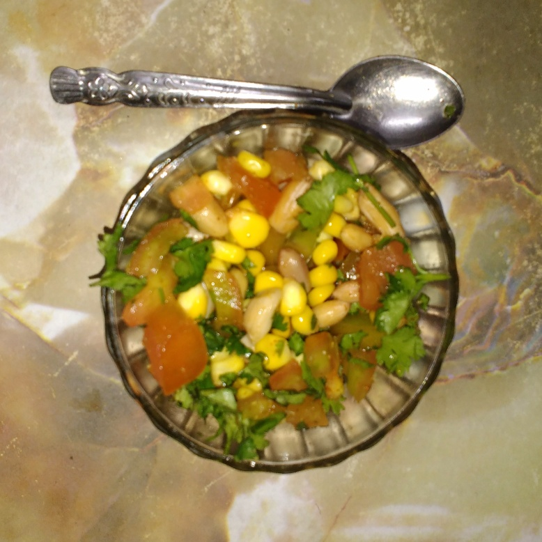 How to make Corn Peanut Chat