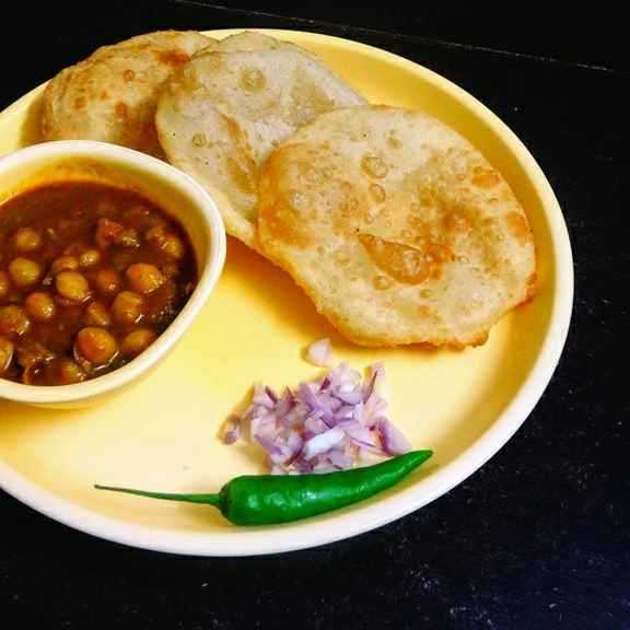 How to make Easy Bhatura