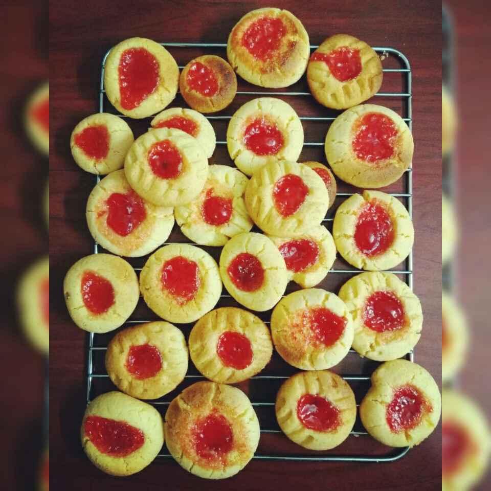 How to make Jam Drop Cookies