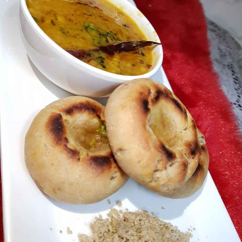 How to make Dal baati churma