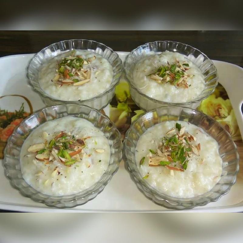 Photo of Rice Flakes Pudding (Poha Kheer ) by Nikita Manwani at BetterButter