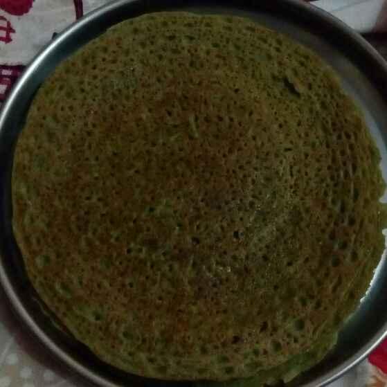 Photo of Rice flour palak dosa by Nikita Naik at BetterButter