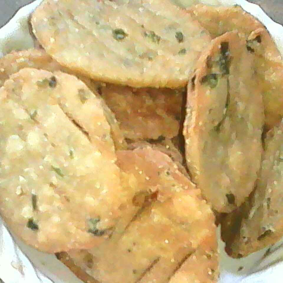 How to make Wheat flour green onion mathari