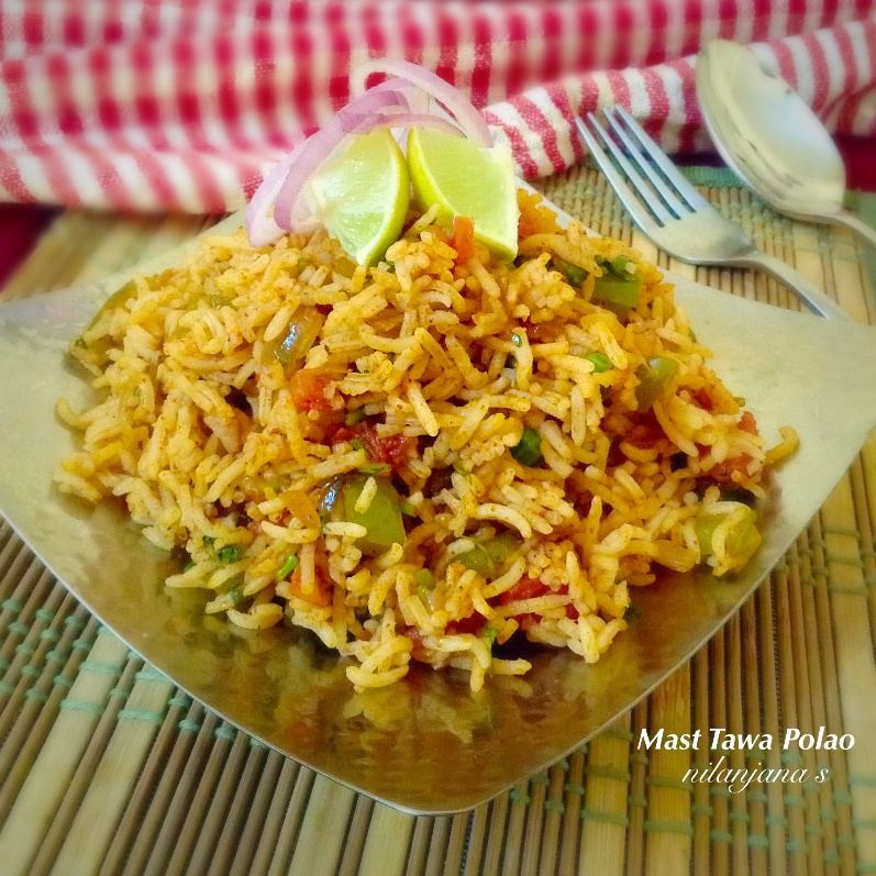 How to make Mumbai Mast tawa pulao