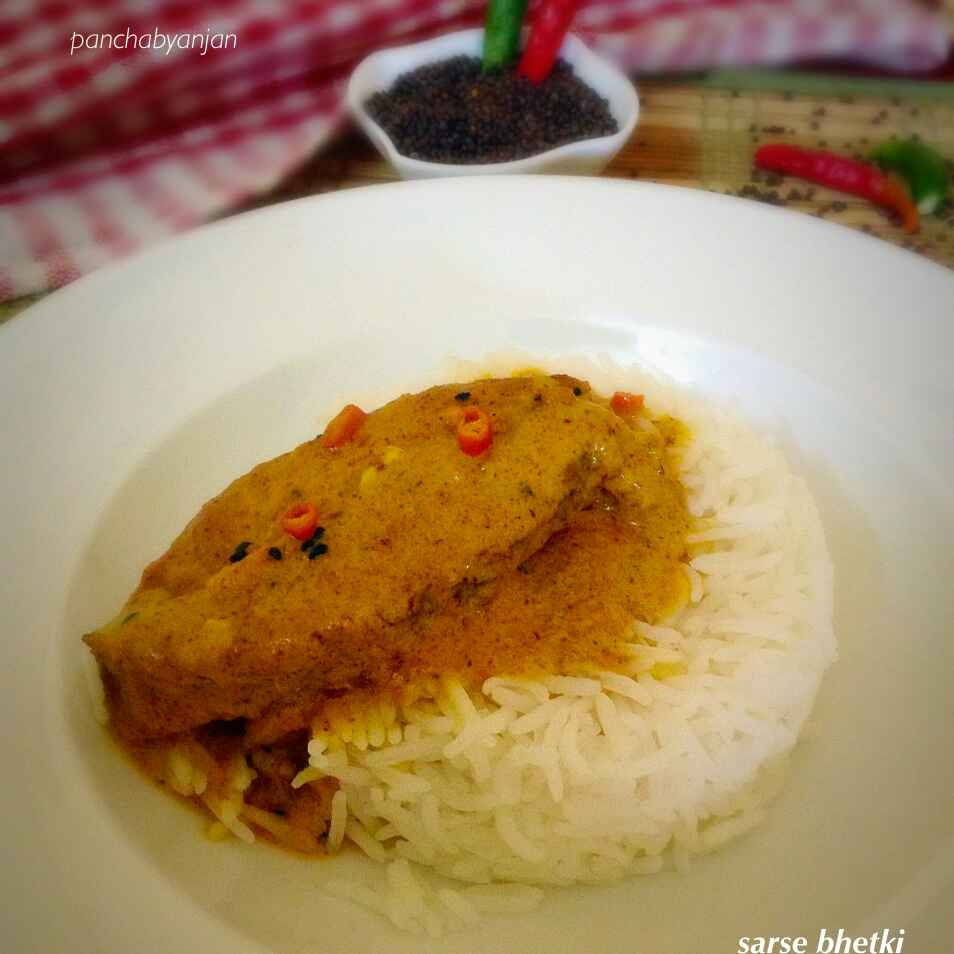 Photo of Sarse vetki/ Vetki fish in mustard sauce gravy by Nilanjana Bhattacharjee Mitra at BetterButter