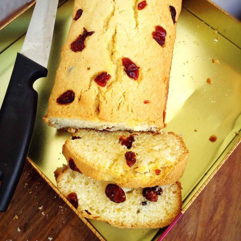 How to make Cranberry Tea Cake