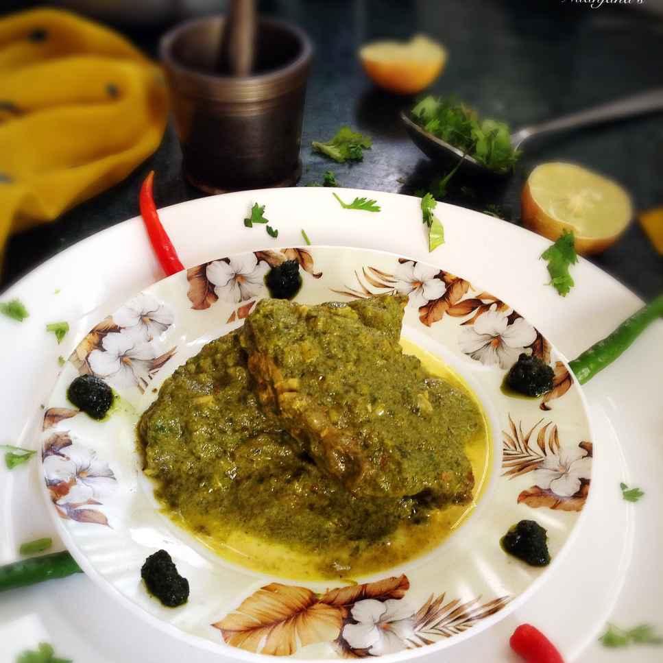 How to make Bekti fish in coriander and mustard grav