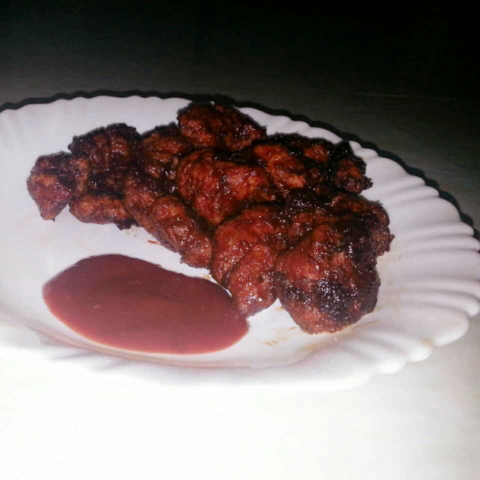 How to make Chicken Barbeque Poppers