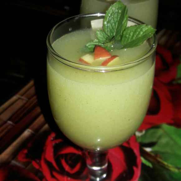 How to make Guava  Mint Cooler