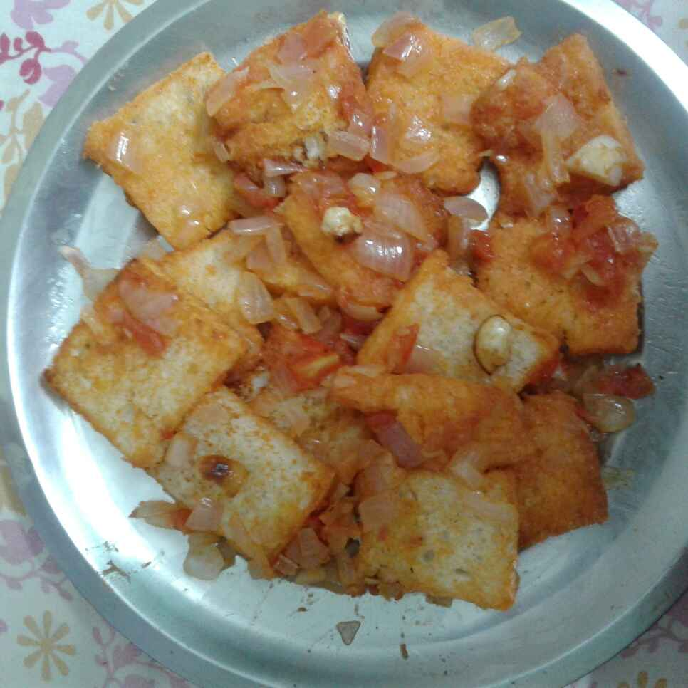 Photo of Bread  masala by nilopher meeralavai at BetterButter