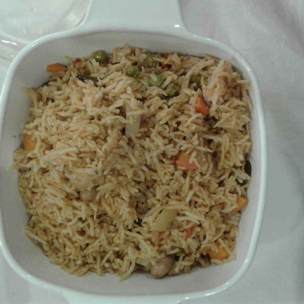Photo of Vegetable priyani by nilopher meeralavai at BetterButter