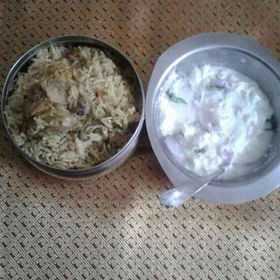 Photo of Chicken piriyani by nilopher meeralavai at BetterButter
