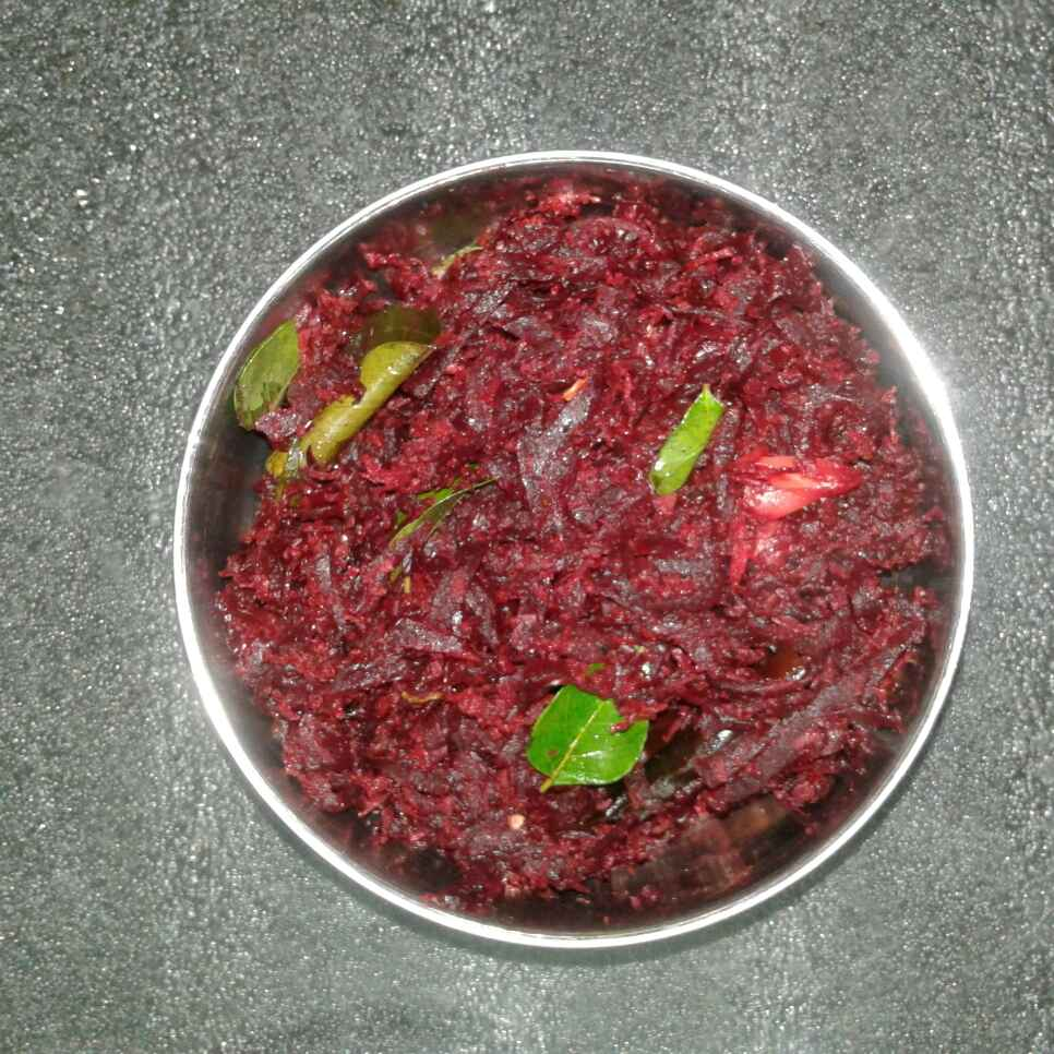 Photo of Spicy beet root by nilopher meeralavai at BetterButter
