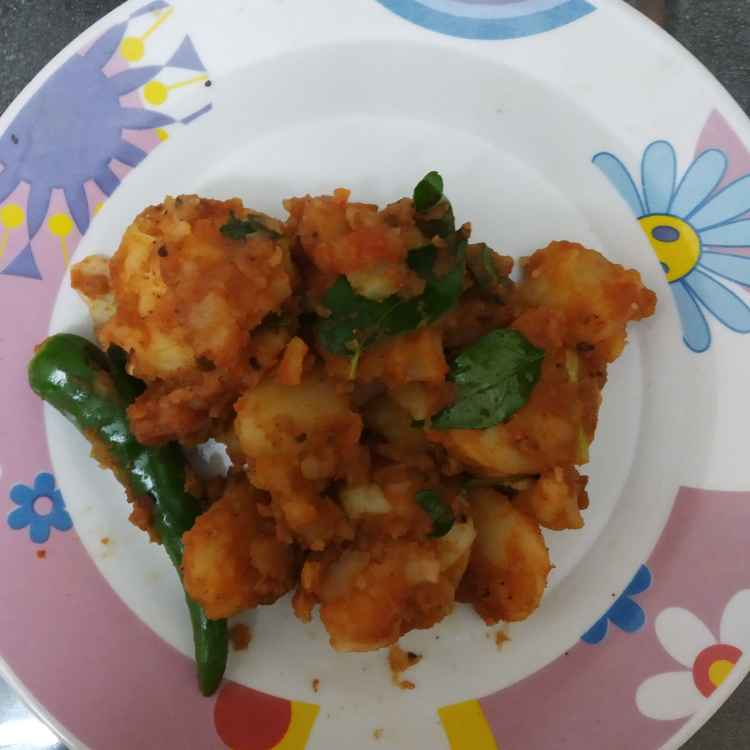 Photo of Potato masala by nilopher meeralavai at BetterButter