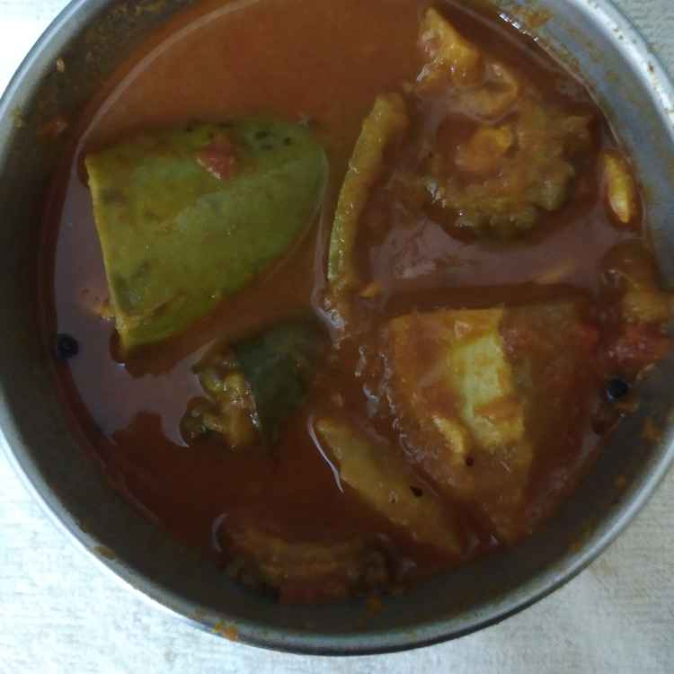 Photo of Maggi pavakkai puli gravy and by nilopher meeralavai at BetterButter