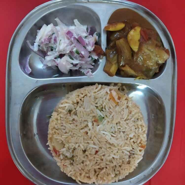 Photo of Vegetable biriyani, katta, ritha by nilopher meeralavai at BetterButter
