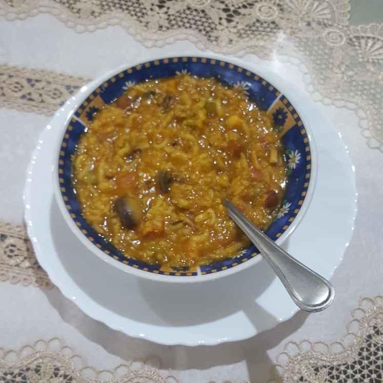 Photo of Vegetable khichdi by Nilu Rastogi at BetterButter