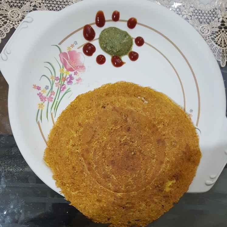 Photo of Zucchini cheela by Nilu Rastogi at BetterButter