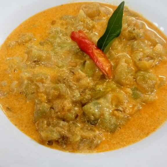 How to make Milky  Ridge Gourd Curry