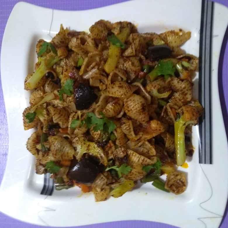 Photo of Tawa Shell pasta by Nirmala Kumari at BetterButter