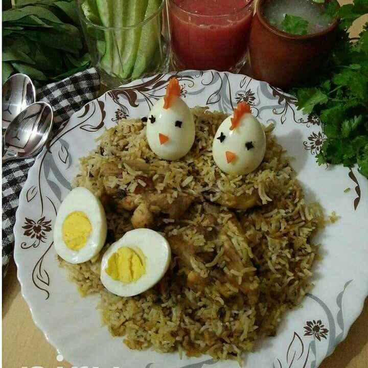 How to make हैदराबादी चिकेन दम बिरयानी