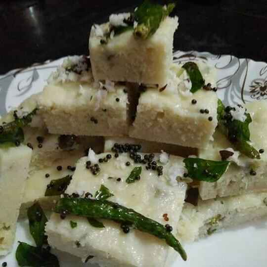 How to make Rice Dhokla from leftover dosa batter