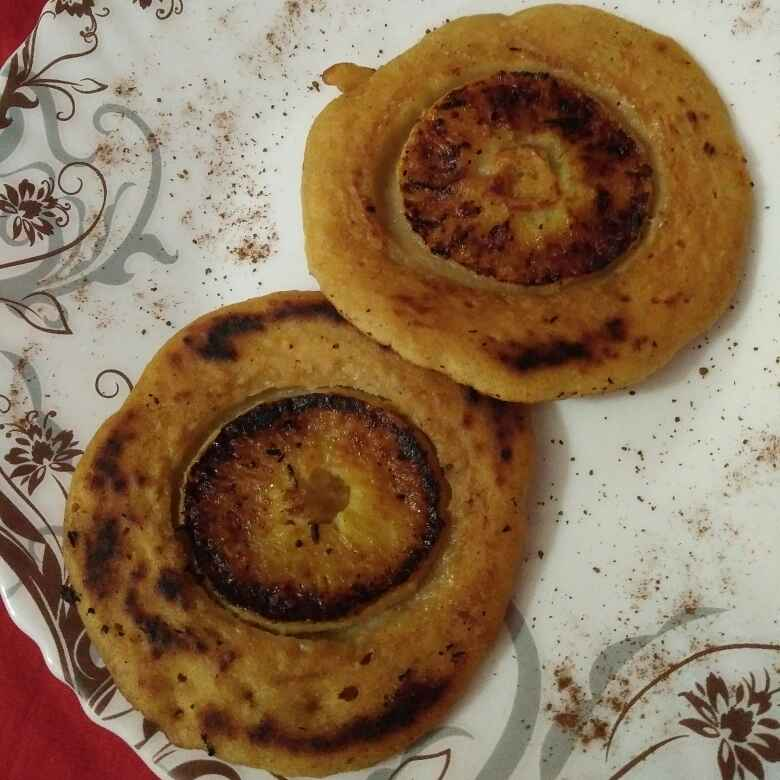 Photo of Eggless Apple upside down pancake by Nirupama Mohanty at BetterButter