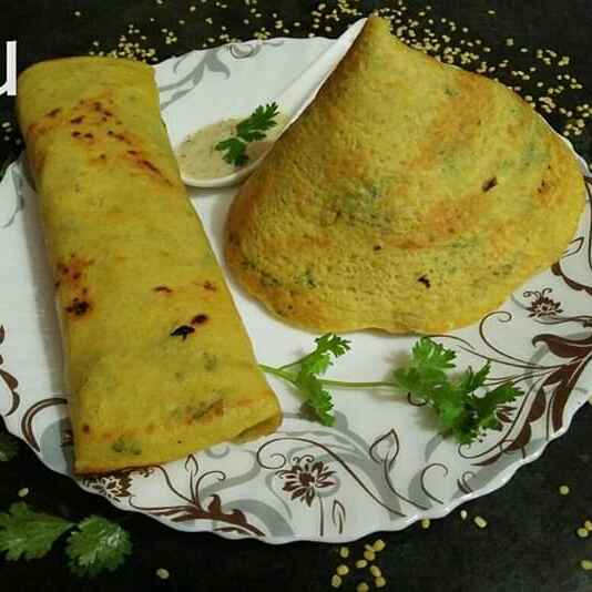 How to make Moong dal dosa