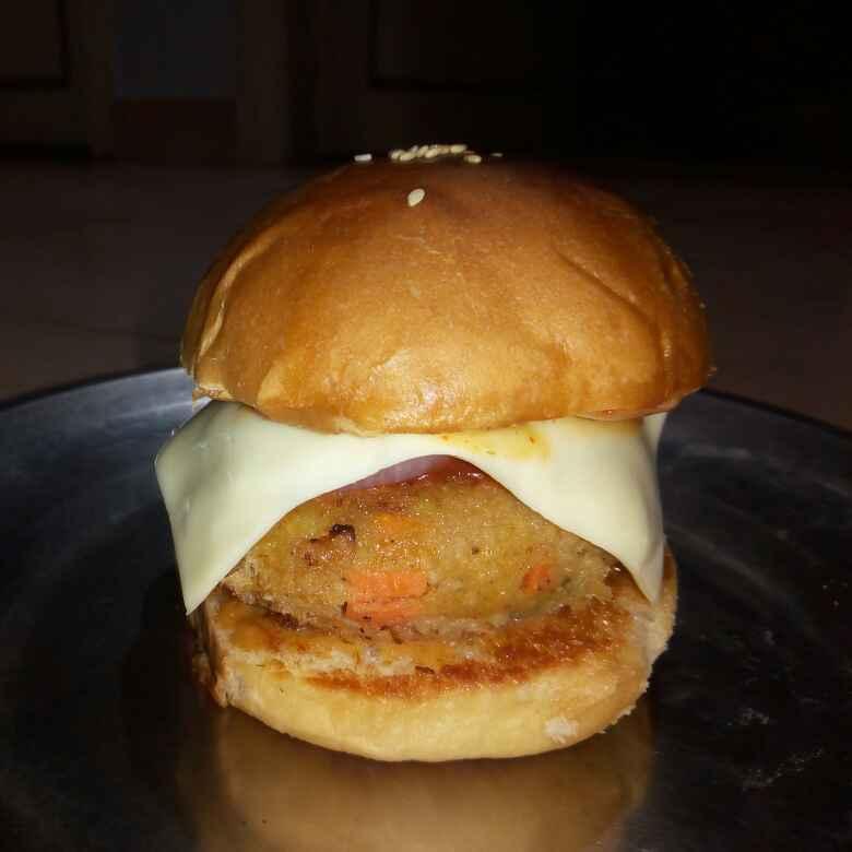 How to make Veg burger..