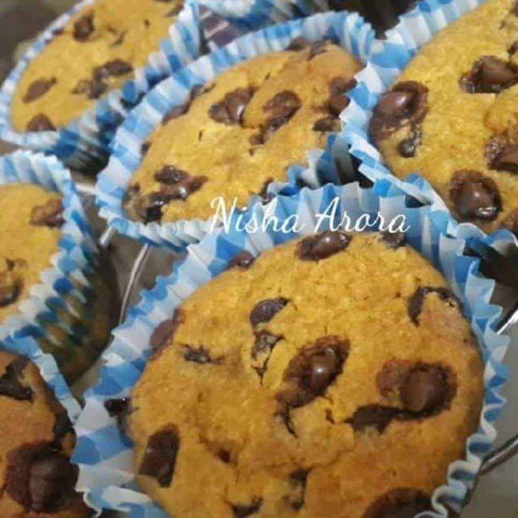 How to make Pumpkin Choco Chips Muffins