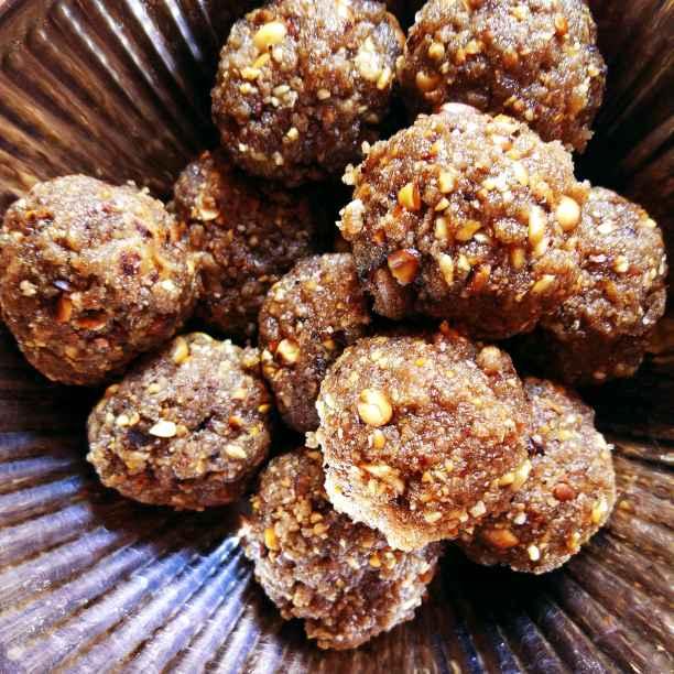 Photo of Multigrain peanut balls/thokku urundai by Nisha Nisha at BetterButter