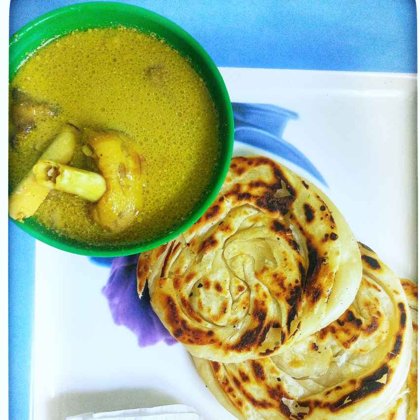 Photo of PAROTTA and goat trotters soup by Nisha Nisha at BetterButter