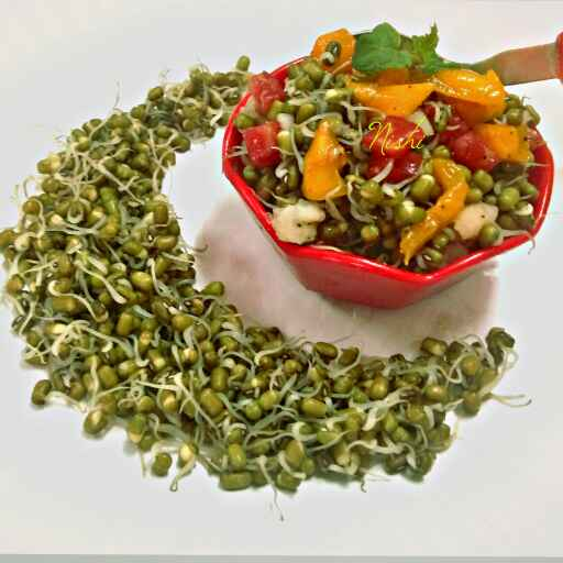 Photo of Ankurit moong salad by Nishi Maheshwari at BetterButter