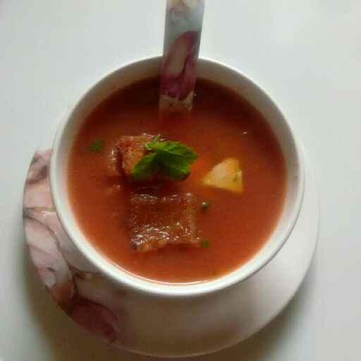 Photo of Tamatar soup by Nishi Maheshwari at BetterButter