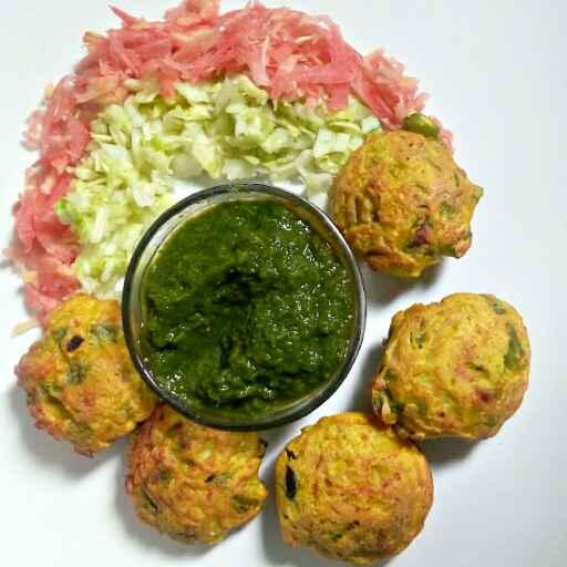 How to make Besan ke veg appe