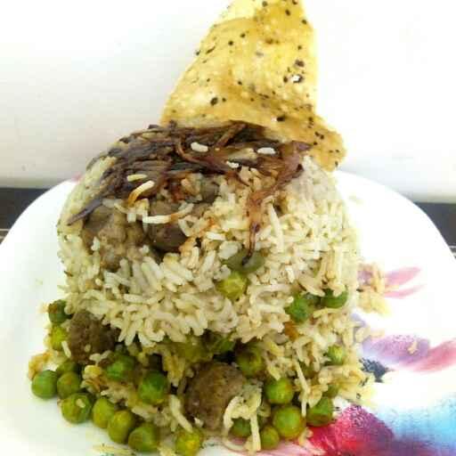 Photo of Matar soya chunks pulav by Nishi Maheshwari at BetterButter